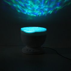Colorful Led Aurora Ocean Waves Projector Music Night Light Lamp - US$18.99 - Banggood Mobile