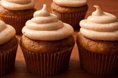 Pumpkin Spice Cupcakes- we made these this weekend in Denver and they were wonderful!