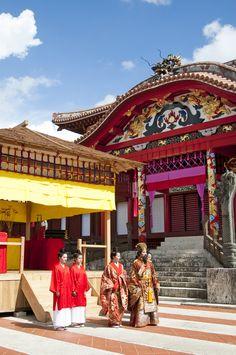 Ryukyu Kingdom Festival, Shuri, Okinawa, Japan