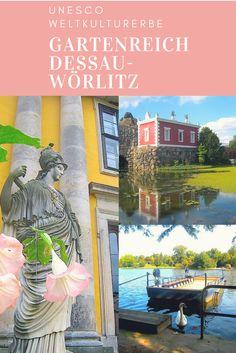 Das Gartenreich Dessau-Wörlitz in Sachsen-Anhalt ist ein Gesamtkunstwerk: Gärten und Parks, Wälder und Wiesen gehen hier nahtlos ineinander über. Märchenhafte Schlösser stehen am Ende langer Alleen, Seerosen blühen zu Hunderten und Pfauen schlagen ihr Rad.