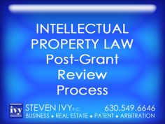 Post-Grant Review Process -- Post grant review is a new trial proceeding that will be conducted by the Patent Trial and Appeal Board to review the patentability of claims in an existing U.S. Patent. The trials allow for limited discovery, which has not been available in ex parte or inter partes reexamination, the existing procedures for challenging patents in the U.S. Patent and Trademark Office. Post-grant review may be sought in a broader range of circumstances than inter partes review.