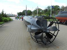 Japanese Ko-hyoteki Class midget submarine HA-8 stern