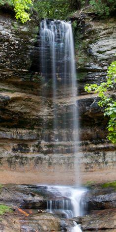Upper Michigan Waterfall
