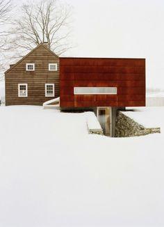 HOUSE IN SNOW  http://tuzvbiber.blogspot.com.tr/2011/06/kardan-ev.html