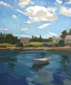 I'm still daydreaming of Maine last summer. 20x24 Anne Ward
