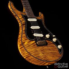 Knaggs Guitars Severn T1 Trem Double Purf in Black Eyed Susan