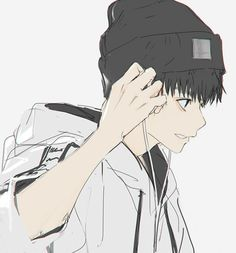 images about anime/manga boys on we heart it see Manga Boy, Anime Kunst, Anime Art, Anime Style, Estilo Anime, Cute Anime Guys, Anime Boys, Animes Wallpapers, Boy Art