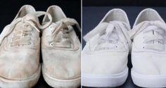 11 astuces pour que les chaussures blanches restent blanches