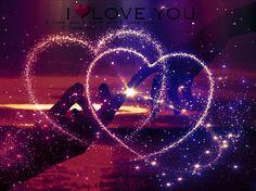 Beautiful Hearts Animated GIF | TOUCHING HEARTS: LOVE / COUPLE / ROMANCE - ANIMATED GIF