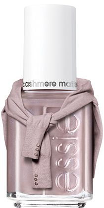 cashmere matte  by essie - with a satin-matte finish that's both futuristic and instantly iconic, these shades capture irresistible individuality.