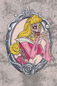 zombie sleeping beauty