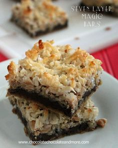 Seven Layer magic Bars-the bar that started all the magic! @Joan | ChocolateChocolateandmore