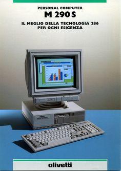 Olivetti PERSONAL COMPUTER M290S, 1990