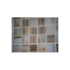 MSI 0.75'' x 0.75'' Glass Mosaic Tile in White Iridescent & Reviews | Wayfair