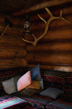Back Country Lodge, inside Halfway Hut with Holiday on Horseback