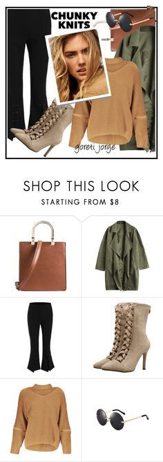 """""""Get cozy: Chunky Knits 😉"""" by goreti ❤ liked on Polyvore featuring fashiontrend, chunkyknits and zaful"""