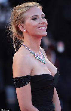 Scarlett Johansson so beautiful smile