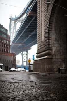 Dumbo, Brooklyn Dumbo is one of my favorite places to shoot in the city, always a great view. -Ryan Plett