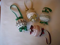 Christmas Ornements for sale on  Etsy.