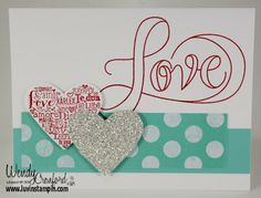 Friday, January 17, 2014 Luvin Stampin: Language of Love Cards
