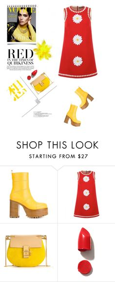 """""""1970's sprit."""" by gul07 ❤ liked on Polyvore featuring Marni, Dolce&Gabbana, Chloé, Garance Doré and NARS Cosmetics"""