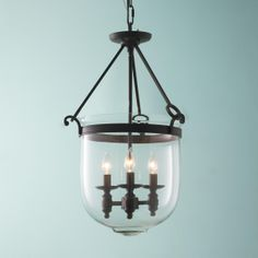 Classic Smokebell Lantern - Shades of Light - for bar pass through