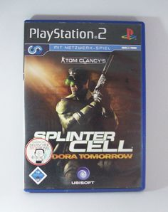 #Tom #Clancys #Splinter #Cell #Pandora #Tomorrow #Sony #Playstation ( #PS2 ) #Spiel #eBay