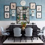 Dream Dining Room: I'm crushing on this crushed velvet dining bench. #contest