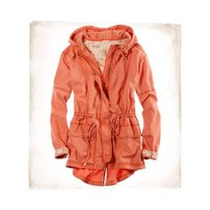 Aerie Military Hooded Parka