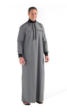 High neck Jubba Thobe/ mens islamic clothing #Eastessence #Thobe