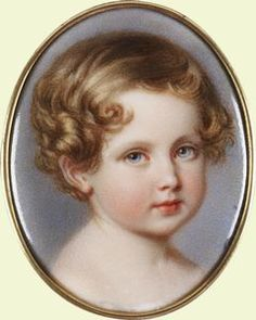 Albert Edward, Prince of Wales ... miniature painting on ivory