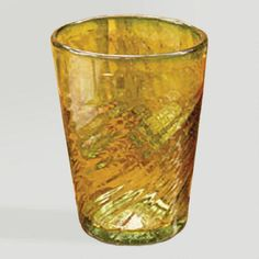 One of my favorite discoveries at WorldMarket.com: Novica Contoured Drinking Glasses, Set of 6