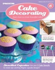20 best Cake Decorating Magazine images on Pinterest   Petit fours     Cake Decorating is a series of best selling Cake Decorating kits with  guides and tools every month that teach you step by step how to make  inspiring cakes