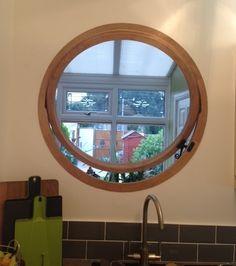 The Round Window Company   round wooden windows hardwood portholes opening circular