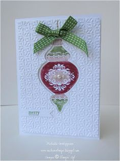 Michelle's Great Paper Chase: Ornament Keepsakes Bonus Projects