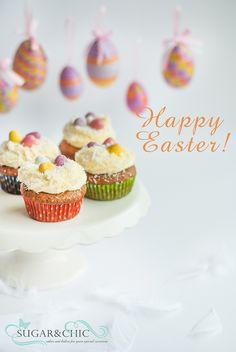 Easter Cupcakes Easter Cupcakes, Mini Cupcakes, Special Occasion, Sugar, Baking, Chic, Desserts, Food, Shabby Chic