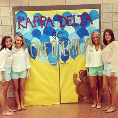 Kappa Delta -Eta Omega chapter at Kennesaw State University! Philanthropy night of formal recruitment!