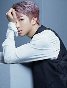 Rap Monster ❤ BTS Profile Photos For 'Blood Sweat & Tears' Japanese Version! ❤ #BTS #방탄소년단