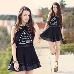 I knew you were trouble (giveaway!) (by KayKay Blaisdell) http://lookbook.nu/look/4352503-I-knew-you-were-trouble-giveaway