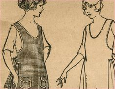 1920's McCalls apron pattern