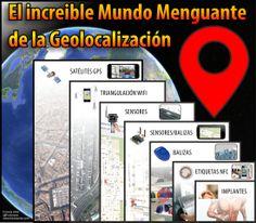 El increible mundo menguante de la #Geolocalización Smart City, Cities, Destinations, Internet, World, Augmented Reality, Travel Destinations, City