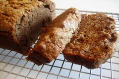 Nutella Banana Bread:      Buttery, nutty and sweet, this bread is so good you will wish you had made a second loaf.       Recipe @  http://www.celebrations.com