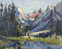 Estes Park Artist - Dawn Normali Oil Paintings - Bella Oils By Dawn