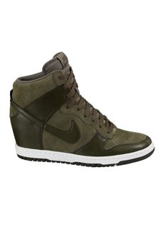 3654b585acc22 nike dunk sky hi dark loden Nike Heels
