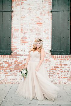 View entire slideshow: Our Favorite BHLDN Brides on http://www.stylemepretty.com/collection/2058/