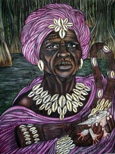Nana Buruku - In Dahomey mythology, Nana Buluku is an androgynous Supreme Creator of the Universe and all that exists in it. Twins were born to Nana Buluku: the moon spirit Mawu and the sun spirit Lisa.