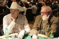 Doyle Brunson and Chip Reese