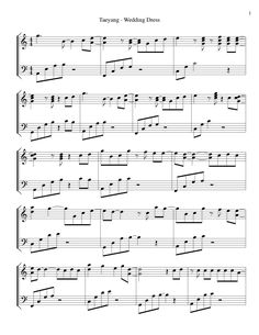 Wedding Dress Piano Sheet Pdf Wedding HD