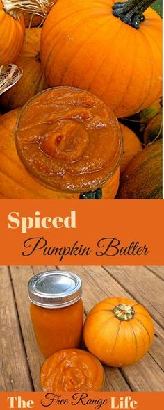 This homemade spiced pumpkin butter is simple to make a full of flavor!