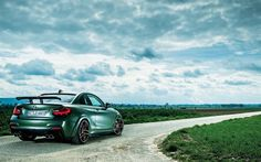 Download wallpapers AC Schnitzer ACL2S, 2017 cars, BMW M240i, tuning, F22, road, BMW